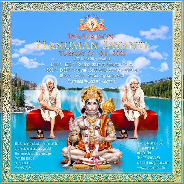 Flyer Hanuman Jayanti 2021